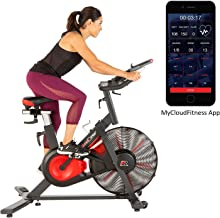Fitness Reality X-Class 9000 Bluetooth Air Resistance HIIT Indoor Cycling Exercise Bike with Free App