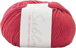Sublime Baby Cashmere Merino Silk DK Yarn 192 Teddy Red