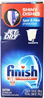 Finish Jet Dry Rinse Aid, 2.68 Ounce (Pack of 2)