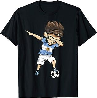 7c8a7b0a577 Dabbing Soccer Argentina Jersey Shirt - Argentinian Football