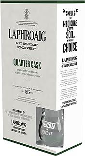 Laphroaig Quarter Cask Islay Single Malt Scotch Whisky Geschenkverpackung mit Tumbler 1 x 0,7 l