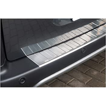 Ladekantenschutzfolie /› passgenau f/ür Peugeot 107 BJ 2005-2014 ✓ Anthrazit-Matt//Geb/ürstet ✓ St/ärke 150 /µm Ladekantenschutz Folie 0,15mm