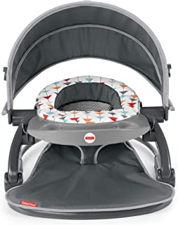 Fisher-Price On-The-Go Sit-Me-Up Floor Seat - Arrows Away, Travel Baby Chair