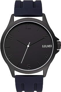 Reloj analógico de Cuarzo para Hombre de s.Oliver con Correa de Silicona