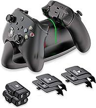 KINVOCA Estação de carregamento com controle para Xbox Series S/X, estação de carregamento dupla compatível com controles ...