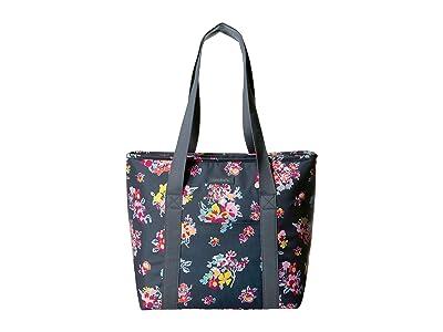 Vera Bradley Lighten Up Cooler Tote (Tossed Posies) Handbags