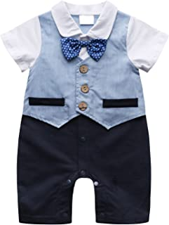 cdc56a0e788 Amazon.com  Greys - Footies   Rompers   Clothing  Clothing