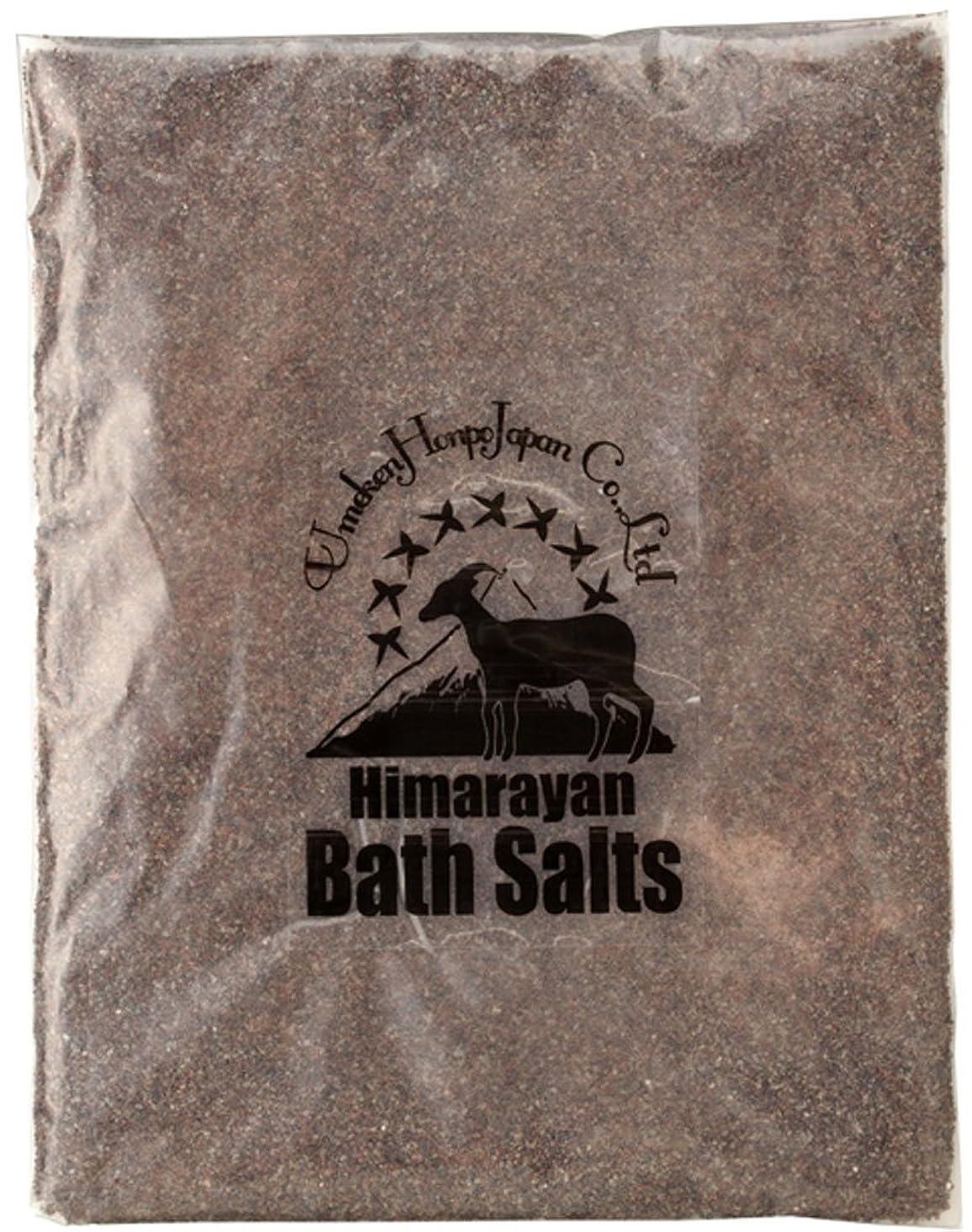 ブリッジ日記火星ヒマラヤ岩塩 バスソルト ブラック あら塩 2kg