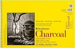 Strathmore 300 Series Charcoal Pad, White , 11