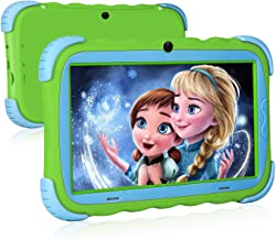 Kids Tablet - 7 inch Kids Edition Tablet with IPS Eye Protection Screen Android 9.0 WiFi Camera Bluetooth 1GB/16GB and Kids-Proof…