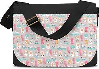 Kawaii Breakfast Bacon & Eggs Messenger Bag - One Size Messenger Bag