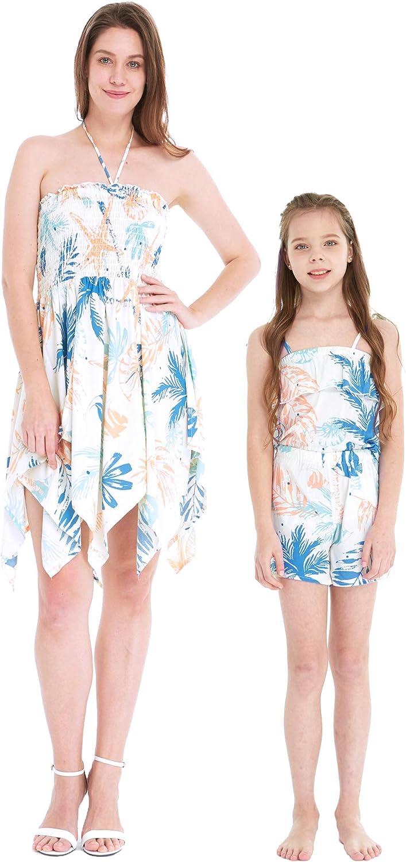 Matchable store Hawaiian Luau Mother Daughter Max 63% OFF Fairy or Dress Gir Women