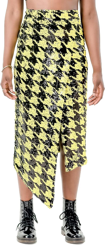 Pantora Women's Cavi Sequin Wrap Skirt