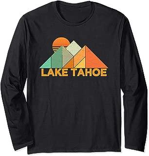 Retro Vintage Lake Tahoe Long Sleeve Shirt-Distressed Shirt