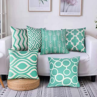 decorative pillow covers set of five