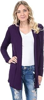 Women's Long Sleeve Jersey Cardigan (25+ Colors/S-XL)