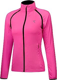 J.CARP Women Cycling Jacket Windproof Water Resistant Softshell