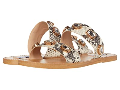 Steve Madden Jace Flat Sandal (Multi Snake) Women