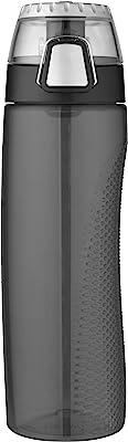 Thermos Single Wall Hydration Bottle, 710ml, Smoke, HP4100SMPTY6