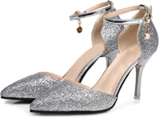 Pumps Women Elegant Thin High Heels Point Toe Party Wedding Shoes Woman Sexy Bridal Pumps