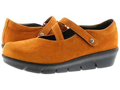Wolky Sabik (Dark Ochre Antique Nubuck) Women