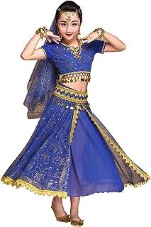 e9d06c2a61107 Happy Cherry Costume Danse Oriental Enfant Belly Dance Costume Danse  Indienne Ensemble Danse du Ventre 5