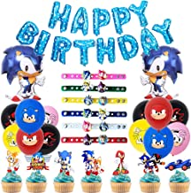 Amazon Com Sonic The Hedgehog Party Supplies