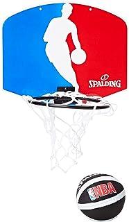 comprar comparacion MIni canasta de Spalding con logo de la NBA (77–602Z)