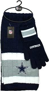 Littlearth NFL Unisex NFL Scarf & Gloves Gift Set