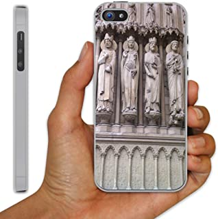 iPhone 5 Case - Notre Dame Cathedral (Portal Sculptures) - Clear Protective Hard Case