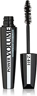 a72ae598abf L'Oreal Paris Voluminous Power Volume 24H Waterproof Mascara, 696 Blackest  Black, 0.33