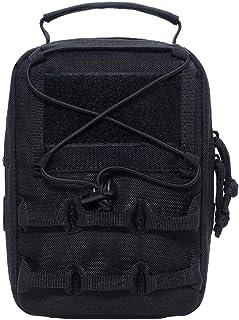 Bolsos tácticos, mochila táctica de hombro, mochila bandolera, bolso de senderismo, excursionismo, gran capacidad para camping, senderismo, viajes y motocicletas