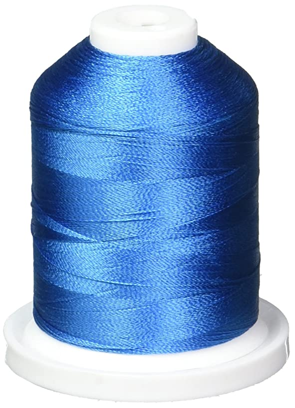 Robison-Anton Rayon Super Strength Thread, 1100-Yard, Boo Boo Blue