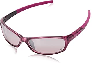 Victorious Square Sunglasses, Shiny Crystal Pink Metallic, 59 mm