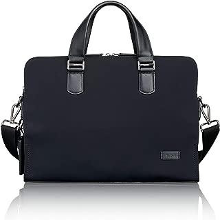 TUMI - Harrison Seneca Laptop Slim Brief Briefcase - 15 Inch Computer Backpack for Men and Women - Black