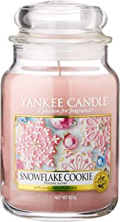 Yankee Candle Large 2-Wick Tumbler Candle, Cascading Snowberry Large Jar Candle Pink 1275342EZ