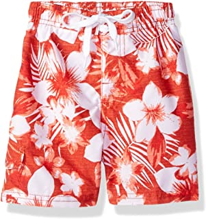 Kanu Surf Boys' Line Up Quick Dry UPF 50+ Beach Swim Trunk