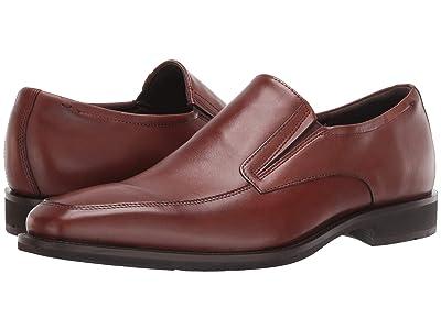ECCO Calcan Apron Toe Slip-On (Cognac) Men