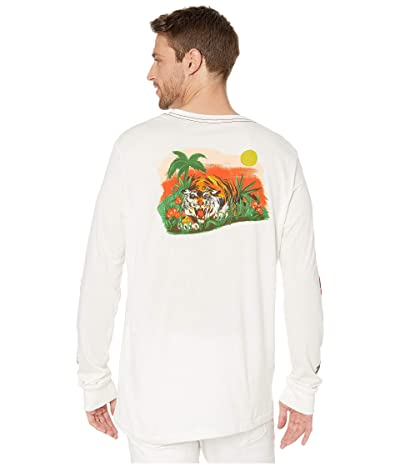 RVCA Jungle Long Sleeve (Antique Waste) Men