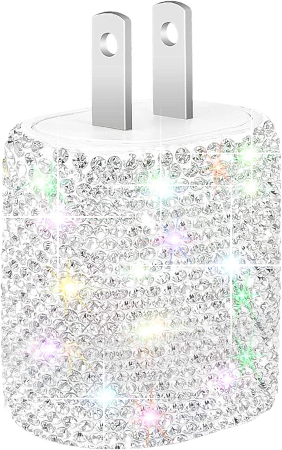 Bling USB Wall Charger 5V 2.4A New product Port Quick Virginia Beach Mall Fast Plug Dual