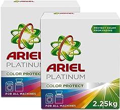 Ariel Platinum Automatic Color Protect Laundry Powder Detergent, 2.25 kg