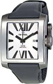 TW Steel Watch for Men, Leather, CE3001