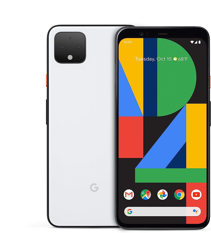 Google Pixel 4 XL (6,3 pollici, Android) SIM free Factory Unlocked 4G/LTE  (G020P UK Model) (bianco chiaro, 64 GB) : Amazon.it: Elettronica