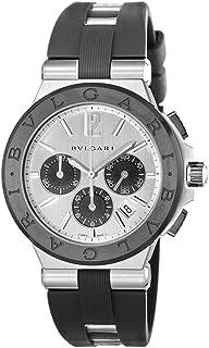 [ブルガリ] 腕時計 ディアゴノ シルバー文字盤 DG42C6SCVDCH 並行輸入品 ブラック