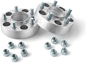 StanceMagic - 50mm (2 inch) Hubcentric Wheel Spacers (5x100, 56.1mm bore, 12x1.25 Studs) Compatible with Scion FRS FR-S BRZ Baja Forester WRX Impreza Legacy Outback Saab 9-2x - Silver 2pcs