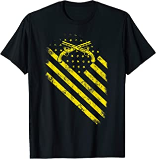 Military Police Flag American Shirt For MP US Army Veteran