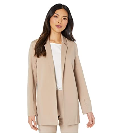 Eileen Fisher Notch Collar Jacket (Bramble) Women
