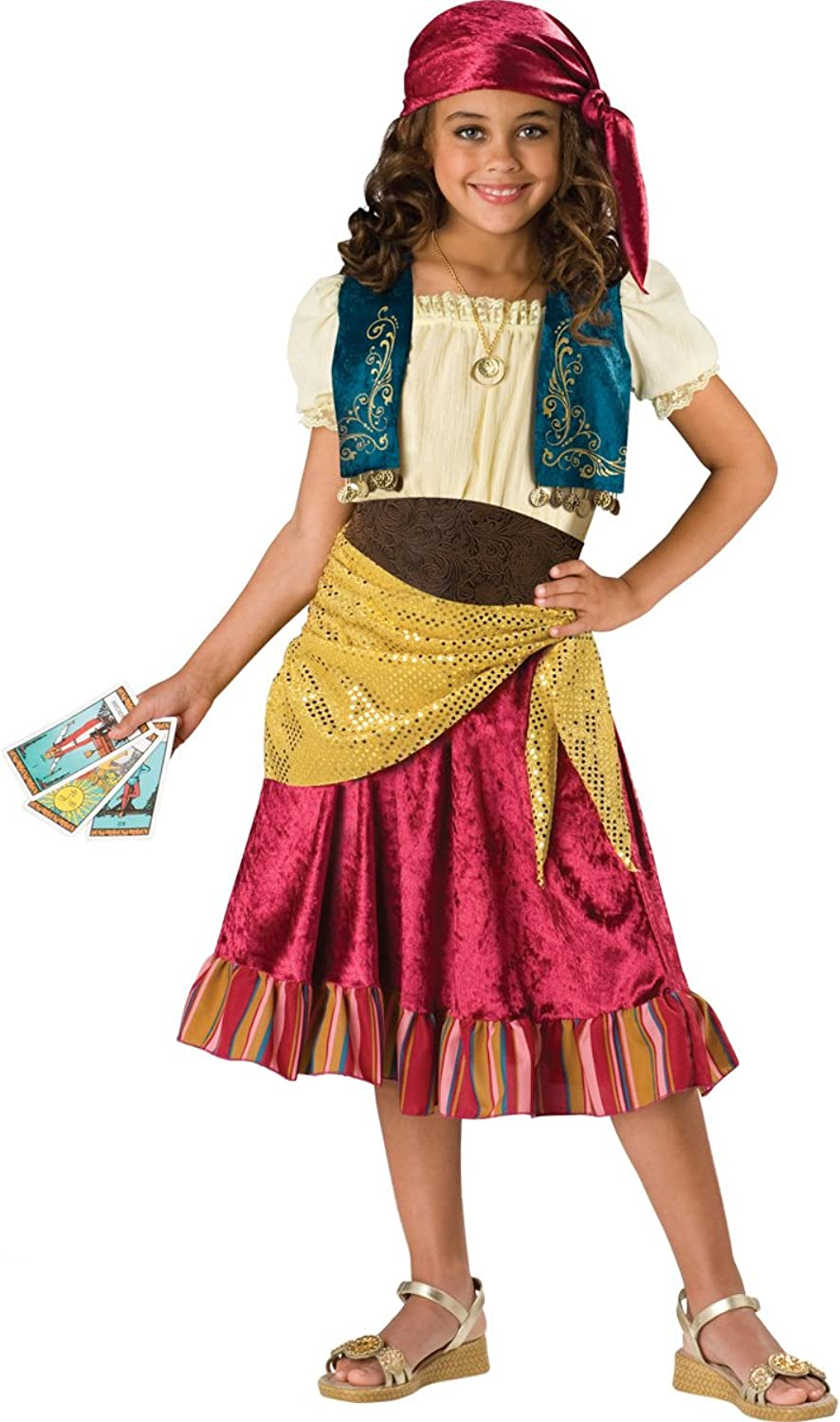 Gypsy Girls Costume Size 8