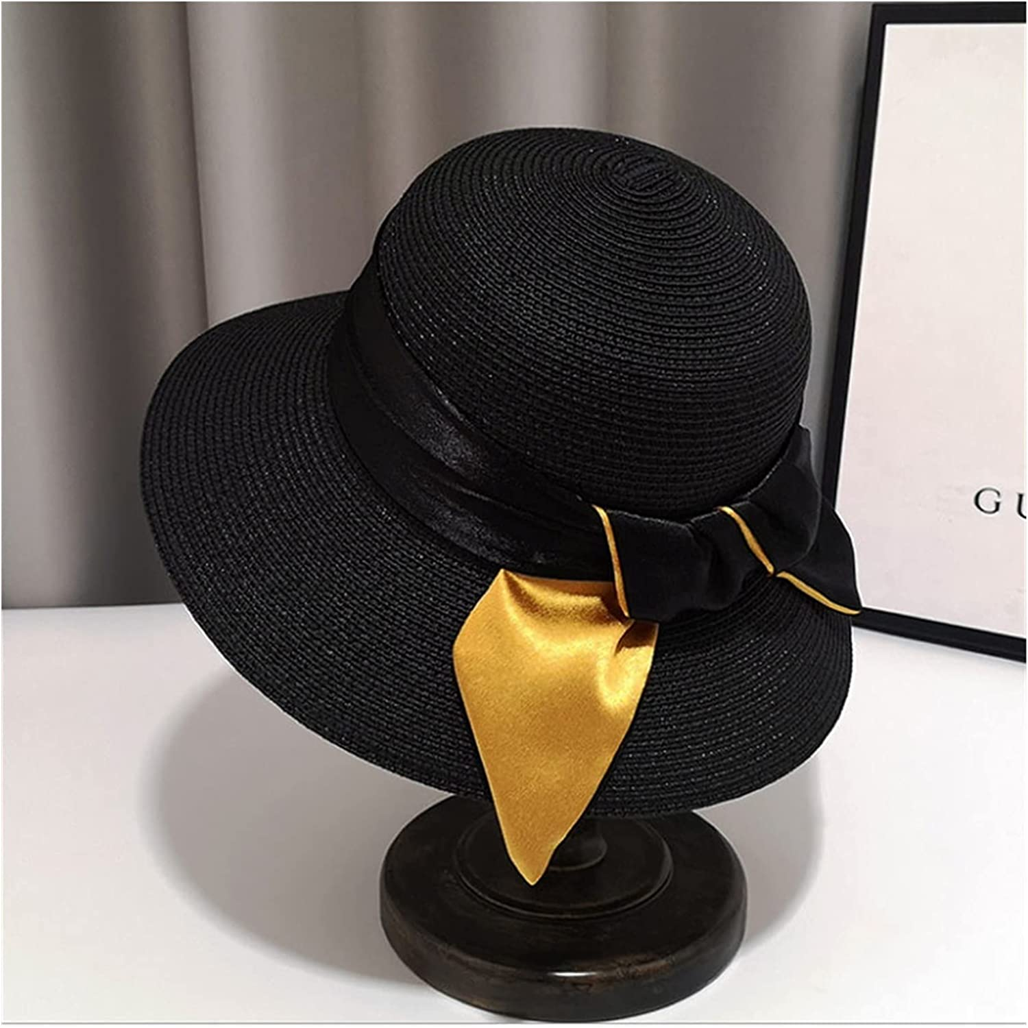 CHENGCHAO Sun hat Board Hats for Summer Wide Max 78% OFF Women Max 52% OFF Straw