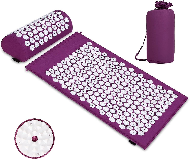 Esterilla de acupresión con almohada por sólo 10,79€ usando el #código: Y5GN7F6M